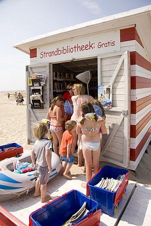 Strandbibliotheek te Zeebrugge
