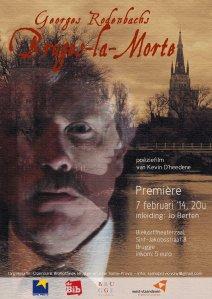 Affiche Bruges la Morte