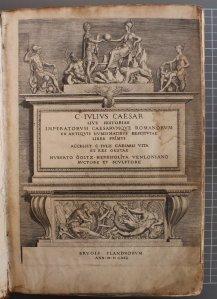 gegraveerde titelpagina van Goltzius, plaatskenmerk B284, STCV nummer 12915864